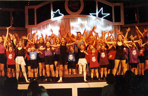 CC Kids on Stage for a Better World Make it Happen 1992